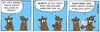 Cartoon: Ferret (small) by Gopher-It Comics tagged gopherit ambrose ferret island