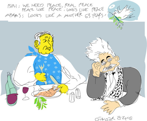 Cartoon: BIBI (medium) by gungor tagged middle,east