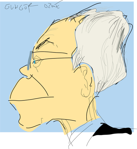 Cartoon: Herman van rompuy (medium) by gungor tagged politician