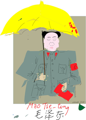 Cartoon: Mao Tse tung (medium) by gungor tagged china,china