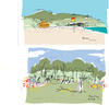 Cartoon: Byron Bay (small) by gungor tagged australia