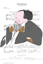 Cartoon: Claude Debussy (small) by gungor tagged musician