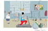 Cartoon: Getting ready (small) by gungor tagged france