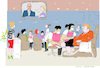 Cartoon: Getting ready (small) by gungor tagged germany