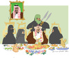 Cartoon: Happy Ramadan (small) by gungor tagged saudi,arabia