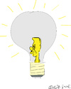 Cartoon: Light Bulb (small) by gungor tagged turkey