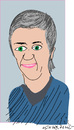 Cartoon: M.Vestager (small) by gungor tagged danmark