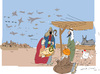 Cartoon: Nativity (small) by gungor tagged middle,east