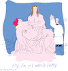 Cartoon: Pieta at White House (small) by gungor tagged us,election,2020