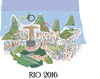 Cartoon: Rio. 2016 (small) by gungor tagged brazil