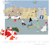 Cartoon: Santa is coming (small) by gungor tagged middle,east