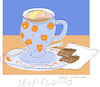 Cartoon: Selfieccino (small) by gungor tagged coffee