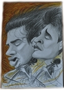 Cartoon: 2cellos (small) by Tomek tagged 2cellos