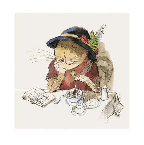 Cartoon: Teatime (medium) by Peter Bauer tagged bauer,peter,teatime,tee,mäuse,katzen