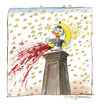 Cartoon: Schluss mit lustig! (small) by Peter Bauer tagged terror,westliche,kultur