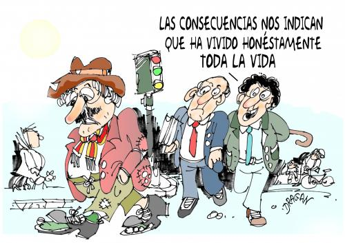 Cartoon: concecuencias (medium) by Dragan tagged concecuencias