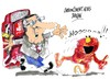 Cartoon: Jose Blanco-Barrio Sesamo (small) by Dragan tagged jose,blanco,barrio,sesamo,psoe,galicia,gasolinera,politics,cartoon