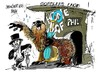 Cartoon: La marmota Phil (small) by Dragan tagged marmota,phil,estado,ohio,primavera,cartoon