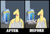Cartoon: After-Before... (small) by berk-olgun tagged after,before