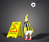 Cartoon: Bicycle Kick... (small) by berk-olgun tagged bicycle,kick