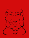 Cartoon: Calligraphy 2.. (small) by berk-olgun tagged calligraphy