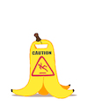 Cartoon: Caution... (small) by berk-olgun tagged caution