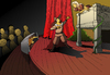 Cartoon: Cyrano de Bergerac... (small) by berk-olgun tagged cyrano,de,bergerac