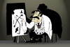 Cartoon: Dali Early Work... (small) by berk-olgun tagged dali,early,work