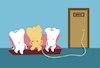 Cartoon: Dentist... (small) by berk-olgun tagged dentist