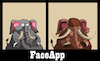 Cartoon: FaceApp... (small) by berk-olgun tagged faceapp