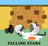 Cartoon: Falling Stars... (small) by berk-olgun tagged falling,stars