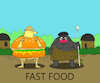 Cartoon: Fast Food... (small) by berk-olgun tagged fast,food