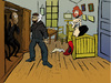Cartoon: Gogh vs Munch vs Lautrec... (small) by berk-olgun tagged gogh,vs,munch,lautrec