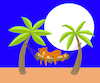Cartoon: Hammock... (small) by berk-olgun tagged hammock