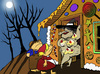 Cartoon: Hansel and Gretel and Strawberry (small) by berk-olgun tagged strawberry
