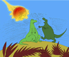 Cartoon: Hero Dinosaur... (small) by berk-olgun tagged hero,dinosaur