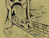 Cartoon: Horror Tunnel... (small) by berk-olgun tagged munch