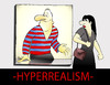 Cartoon: Hyperrealism... (small) by berk-olgun tagged htperrealism