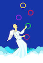 Cartoon: Juggler... (small) by berk-olgun tagged juggler