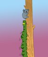 Cartoon: Koala... (small) by berk-olgun tagged koala