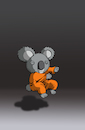 Cartoon: Koala in Nirvana... (small) by berk-olgun tagged koala,in,nirvana