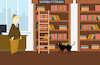 Cartoon: Library... (small) by berk-olgun tagged library