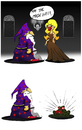 Cartoon: Magic Word... (small) by berk-olgun tagged magic,word