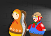 Cartoon: Matryoshka... (small) by berk-olgun tagged matryoshka