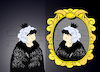 Cartoon: Mirror Mirror... (small) by berk-olgun tagged mirror