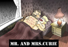 Cartoon: Mr.And Mrs.Curie... (small) by berk-olgun tagged mr,and,mrs,curie