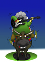 Cartoon: Nasreddin Blues... (small) by berk-olgun tagged nasreddin,blues