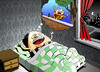 Cartoon: Nightmare... (small) by berk-olgun tagged nightmare