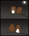 Cartoon: Owl Joke... (small) by berk-olgun tagged owl,joke
