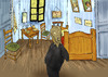 Cartoon: Panic at the Wrong Background... (small) by berk-olgun tagged panic,at,the,wrong,background